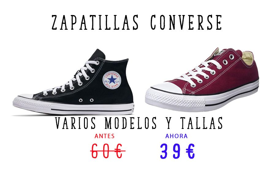 Converse All star por 39€ Pgina web0