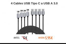 cables usb tipo c baratos