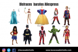 Disfraces baratos aliexpress